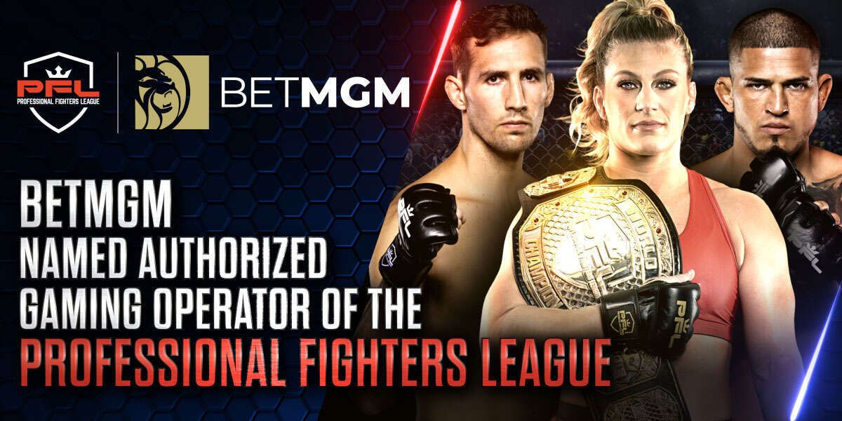 BetMGM Named Authorized Gaming Operator of The Professional Fighters League