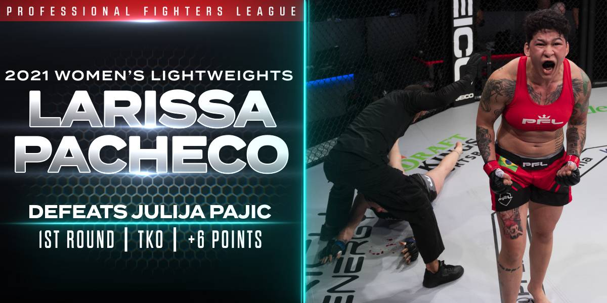 Pacheco Scores Six Points by Destroying Pajić in Under a Minute