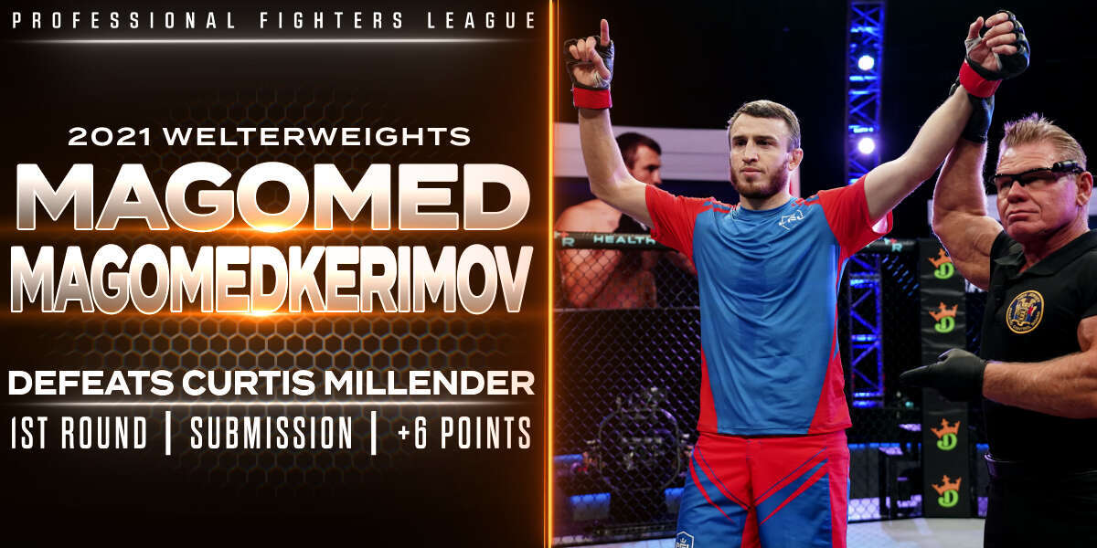 Magomedkerimov submits Millender early — but not without a scare