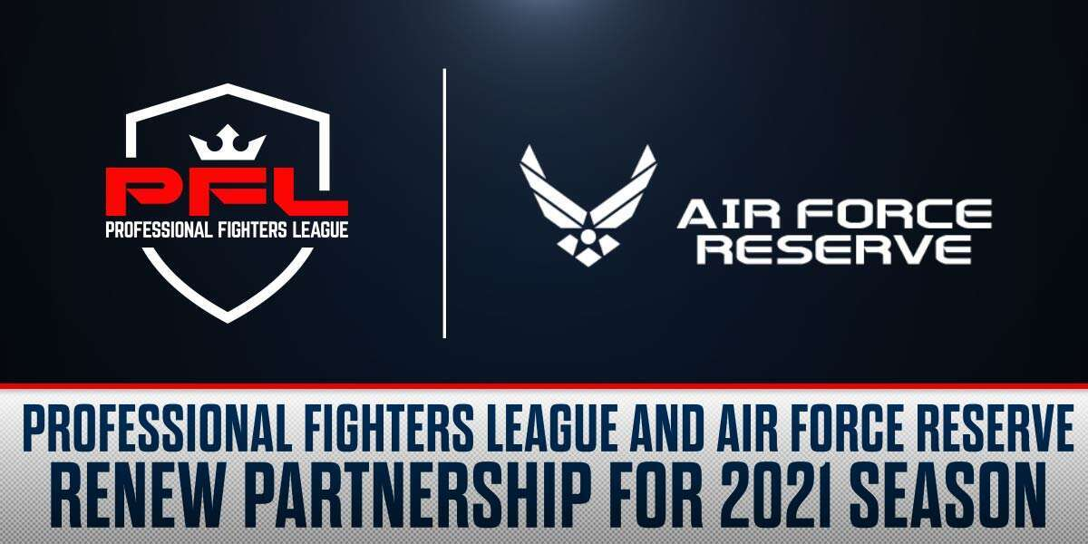 PROFESSIONAL FIGHTERS LEAGUE AND AIR FORCE RESERVE RENEW PARTNERSHIP FOR 2021 SEASON