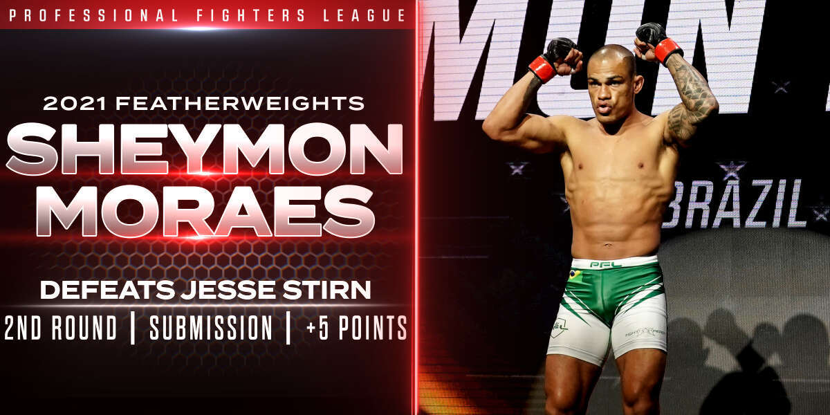 Moraes hits last-second submission, earns five points against Stirn