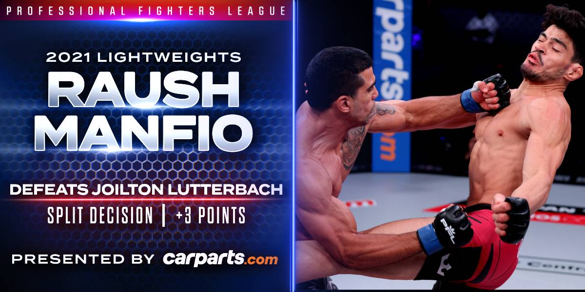 Manfio Earns Three Points with Narrow Victory over Lutterbach