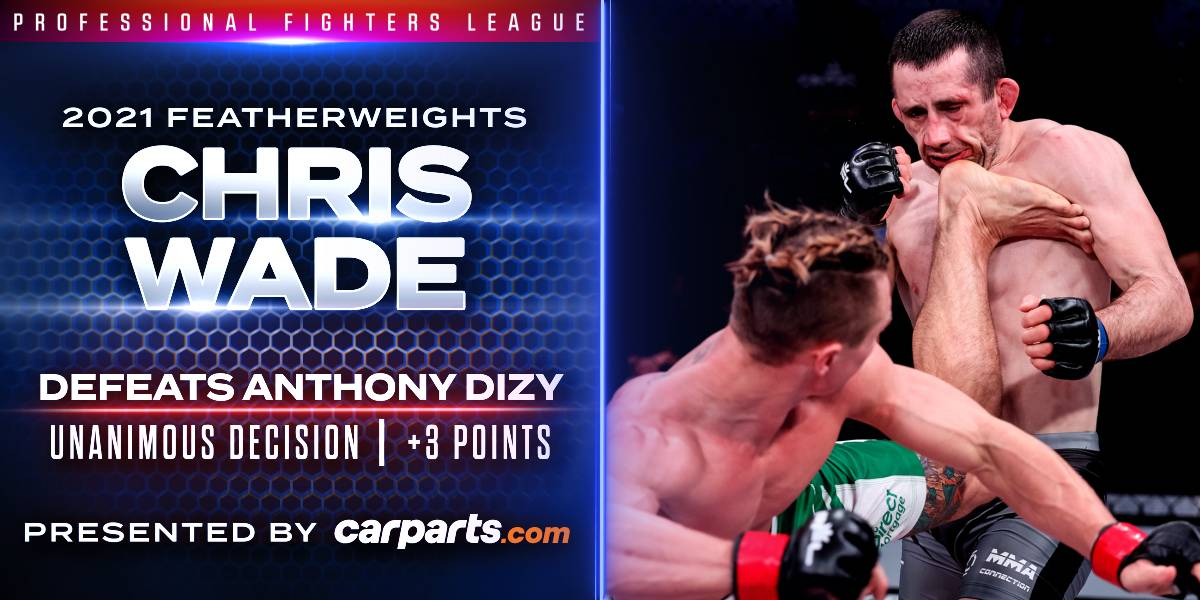 Wade Outlasts Dizy in Grueling Featherweight Affair