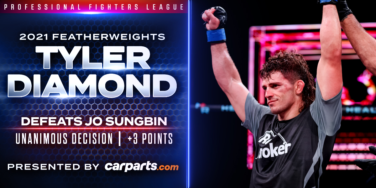 Diamond Bests Jo After Back-and-Forth Featherweight Battle