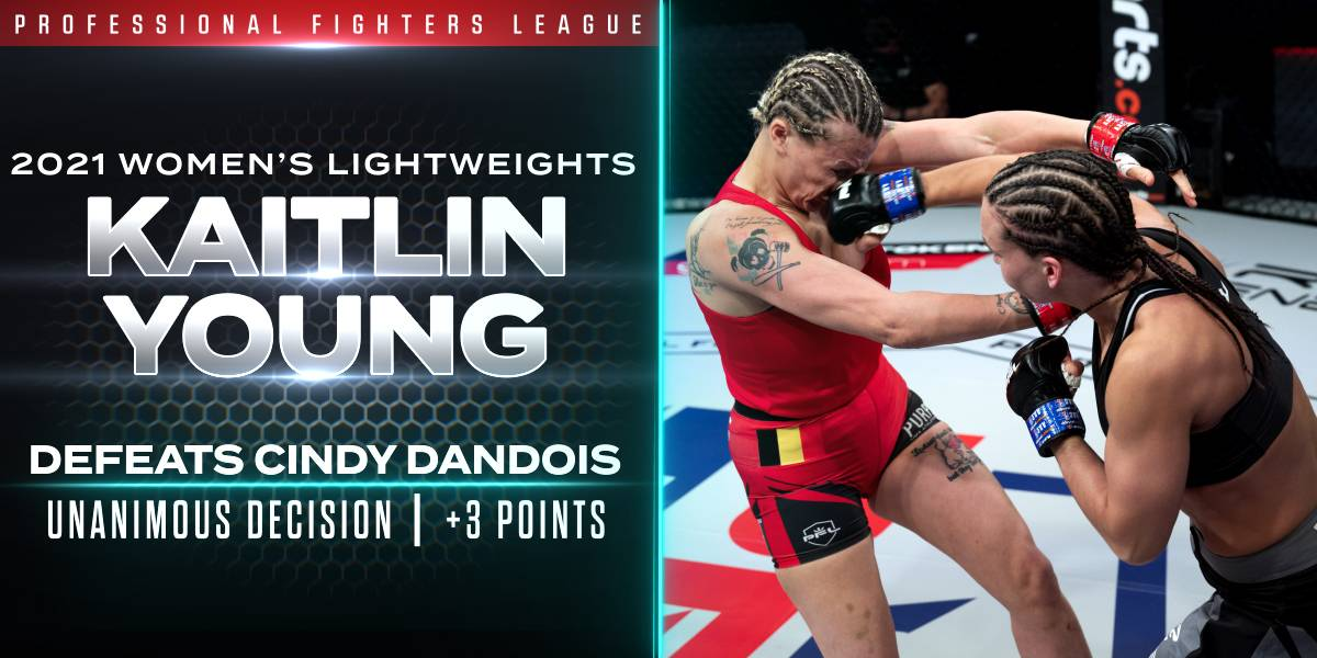 Young Puts On Striking Clinic Against Dandois to Earn Three Points