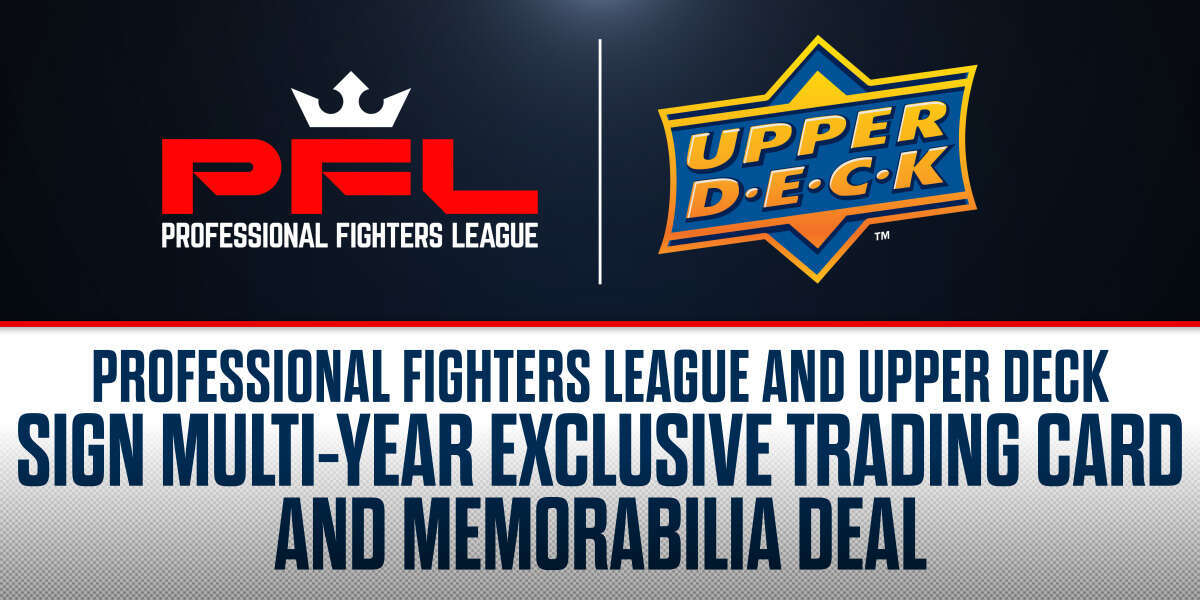Professional Fighters League and Upper Deck Sign Multi-Year Exclusive Trading Card and Memorabilia Deal