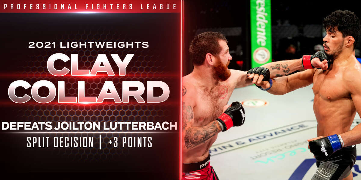 Collard ekes out split decision over Lutterbach, punches ticket to Playoffs